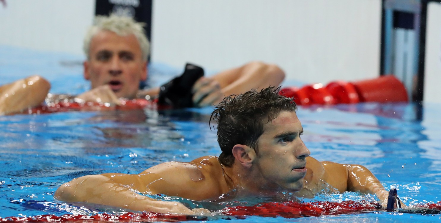 Washington Post: Michael Phelps vs. Ryan Locht